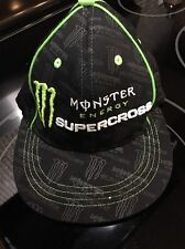 MONSTER ENERGY - SUPERCROSS World Championships Small Or Youth Elastic Cap Hat