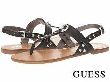 NWB G by GUESS Linaa Women's Sandals Dress Fashion Casual Shoes Black Size 8 -