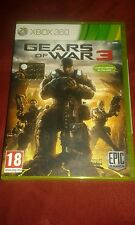 Gears of War 3 xbox360 ORIGINALE come nuovo con libretto