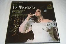 VERDI La Traviata 3 LP Box PRETRE 1967 RCA Victor LSC-6180 Mint NM Caballe