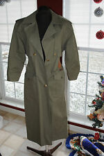 Together Womens Rain Coat Jacket Retro Military Trench Style Size Petite 6