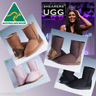 Genuine HAND-MADE Australia SHEARERS UGG Classic Short Sheepskin Short Boots