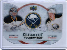 12/13 UD SERIES 1 RYAN MILLER MYERS CLEAR CUT FOUNDATIONS 15/25 BUFFALO SABRES