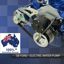 FORD FALCON MUSTANG WINDSOR 289 302 351 SERP PULLEY/ BRACKET ELEC WATER PUMP