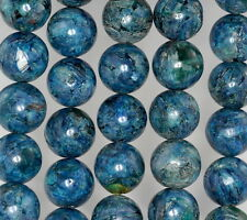 12MM SUPER KYANITE GEMSTONE BLUE GRADE A  ROUND LOOSE BEADS 15.5""