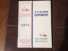 1974 Cessna Turbo Centurion T210L Owner's Manual