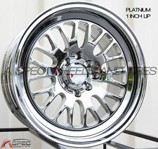 XXR 531 16X8 4x100/114.3MM +20 Platinum Wheels Fits Integra Civic Miata E30 Fox
