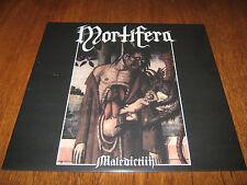 """MORTIFERA """"Maledictiih"""" LP  celestia alcest peste noire"""