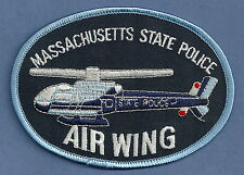 MASSACHUSETTS STATE POLICE AIR WING HELICOPTER PATCH