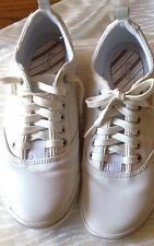 Keds Women's White Leather Snickers Size7.5M