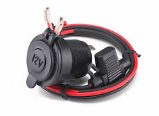 12V Waterproof Motorcycle Cigarette Lighter Power Plug Outlet Socket Jeep ATV