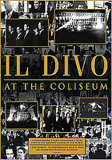 NEW IL DIVO AT THE COLISEUM DVD