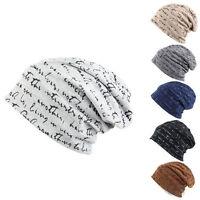 Mütze Slouch Jersey Rollrand Beanie Damen Herren Wintermütze Strickmütze Mützen