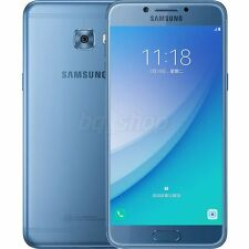 "Samsung Galaxy C5 Pro C5010 Blue 5.2"" 16MP 64GB 4GB RAM Android Phone By FedEx"