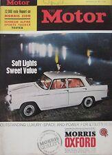 Motor magazine 25/9/1963 featuring Sunbeam Alpine road test, Morris