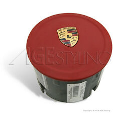 Porsche 911 991 Cayman Boxter Carrera Red Leather Driver Airbag # 99180308909N14