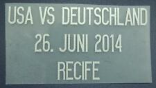 "Match Date of USA vs Deutschland ""World Cup 2014"" at Germany Home"