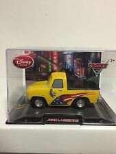 Disney Pixar CARS 2 Collector Case JOHN LASSETIRE