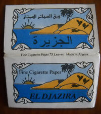Cartine sigarette Papier cigarettes Rolling papers Zigarettenpapier El Djazira