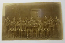 Wonderful WW1 Real Photo Postcard A.S.C Soldiers Having There Photos Taken