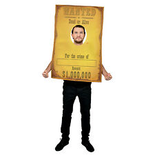 Cowboy Wanted Funny Wild West Fancy Dress Costume Great for Stag Party Festival