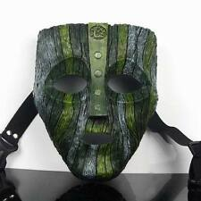 T07 Resin Loki Mask Jim Carrey The God of Mischief Movie Replica Props Halloween