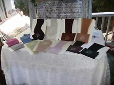 Vtg.New Size-9 1/2-10 1/2-Finesse-Demi-Toe-12 Pairs Stockings-Mixed Colors