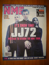 NME 2001 JAN 20 JJ72 MANICS COLDPLAY REM FEEDER DURST
