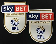 *16 / 19 - ENGLISH FOOTBALL LEAGUE CHAMPIONSHIP / 2 x ARM PATCHES = PLAYER*