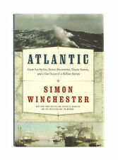ATLANTIC: The Story of an Ocean by Simon Winchester-HARDCOVER FREE SHIPPING