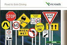 VIC ROADS Road To Solo Driving Car Learner Handbook - Latest Edition