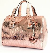 Michael Kors Tasche/Handtasche/Bag GRAYSON MD SATCHEL Signiatur Rose Gold NEU!