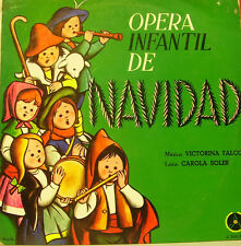 OPERA INFANTIL DE NAVIDAD LP VINILO 1970 SPAN REGULAR COVER-REGULAR VINYL