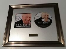 SIGNED/AUTOGRAPHED TOM BAKER AT 80 CD FRAMED PRESENTATION. DR WHO.DOCTOR WHO IV