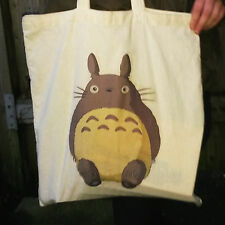 Totoro Canvas Tote Bag, Studio Ghilbi, My Name Is Totoro No.1