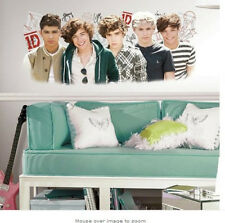 """1 DIRECTION wall sticker giant MURAL musical boy band room decor 1D 40"""" doll"""