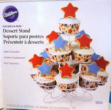 Cupcakes n more Wilton Dessert Stand HOLDS 13 Shower Wedding