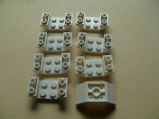 Lego 8 carenages blancs set 21301 60086 4440 8085/ 8 white slope inverted double