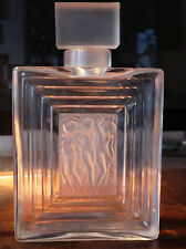 Lalique Duncan Flacon Dekanter Parfüm Flasche Kristall crystal parfume bottle
