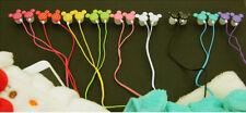 mp3 Earphone mupods in-ear Headphone mickey multicolor cute 3.5mm Headset music