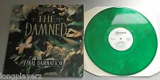The Damned - Final Damnation UK 1989 Essential Green Vinyl LP &  Video Insert
