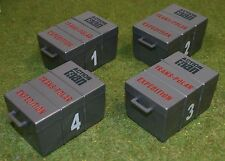 VINTAGE ACTION MAN 40th LOOSE EXPLORER SUPPLY BOXES X 4