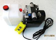12 Volt Hydraulikpumpe Hydraulikaggregat für doppelwirkende Zylinder
