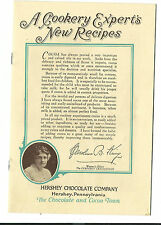 A Cooking Experts New Recipes Hershey Chocolate PA Caroline King Cookbook