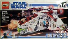 REPUBLIC ATTACK GUNSHIP Star Wars The Clone Wars Lego Set 7676 1034pcs 2008