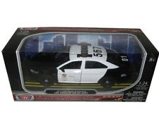 MotorMax 2013 FORD POLICE INTERCEPTOR LAPD LOS ANGELES 1/24 DIECAST CAR 76948