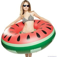 BigMouth - Giant 4 FT Watermelon Slice Inflatable Swimming Pool Float Raft Tube