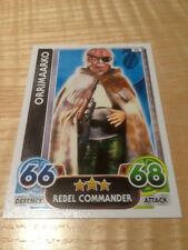 STAR WARS Force Awakens - Force Attax Trading Card #025 Orrimaarko