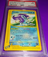 Pokemon Suicune  # 53  Black Star Promo PSA 9