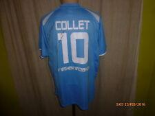 SV Wehen Wiesbaden Nike Matchworn Trikot 2010 + Nr.10 Collet + Unterschrift Gr.M